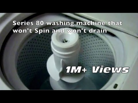 🌎 Washer Won't Spin or drain  DIY  Easy Fix