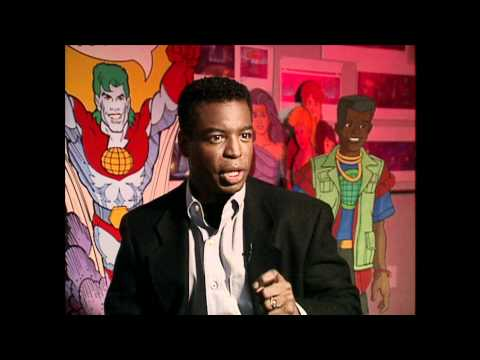 LeVar Burton Kwame Behind the s of Captain Planet