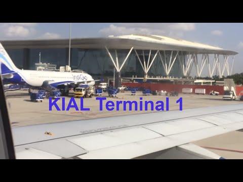 Awesome Landing & Arrival Capture INDIGO Flight @ Kempegowgda International Airport Bangalore