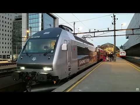 WORLD'S BEST TRAIN RIDE   Bergen to Oslo Norway trip report720p