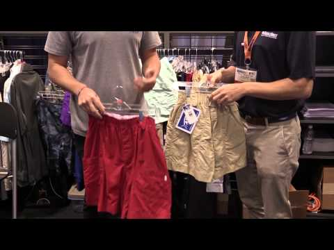 Aftco M01 And M01L Fishing Shorts At ICAST 2014