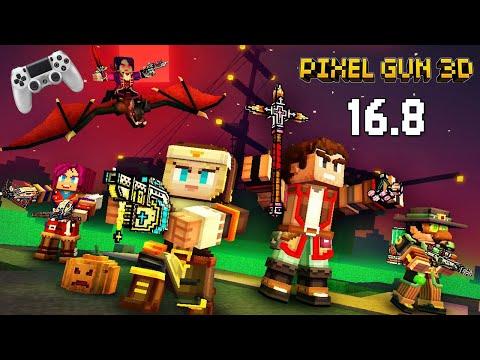 Pixel Gun 3D Update 16.8 - Хэллоуинские Карты и Оружие (412 серия)