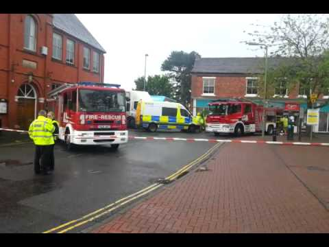 Crash in Shropshire