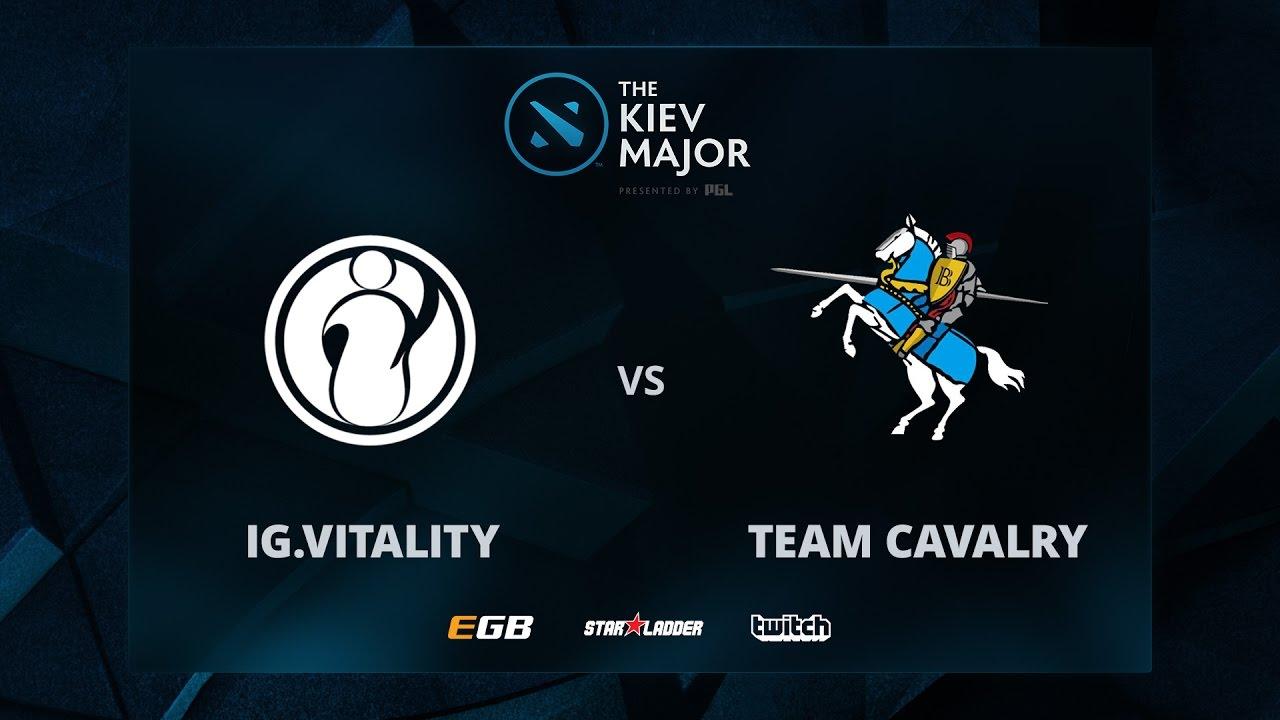 IG.Vitality vs Cavalry, The Kiev Major CN Main Qualifiers