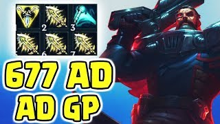 677 AD + 4 INFINITY EDGE GangPlank | Twitch Highlights (Deutsch/German) LoL