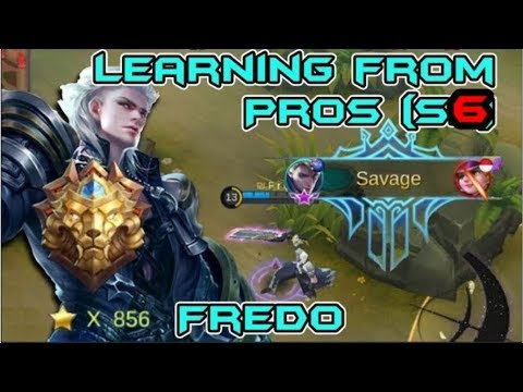 LEARNING FROM PROS - Saiyan Frędo | BEST ALUCARD IN THE WORLD | INSANE SAVAGE PENTAKILL! (SERIES 2)