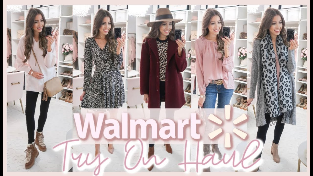 [VIDEO] - WALMART TRY ON HAUL | AFFORDABLE FALL OUTFIT IDEAS 2019 7