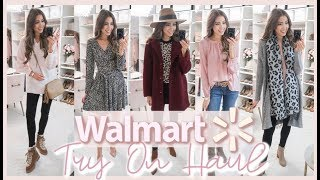 WALMART TRY ON HAUL | AFFORDABLE FALL OUTFIT IDEAS 2019