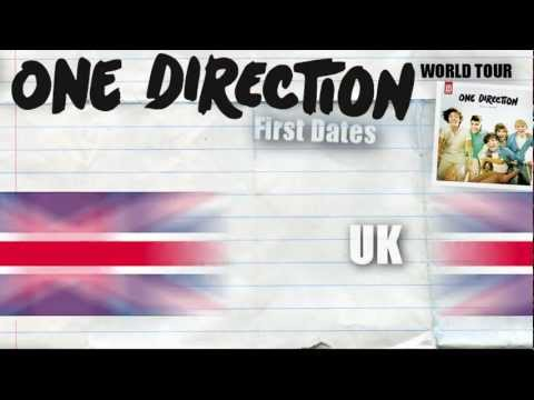 [Rumor] One Direction World Tour 2012/2013 - First Countries