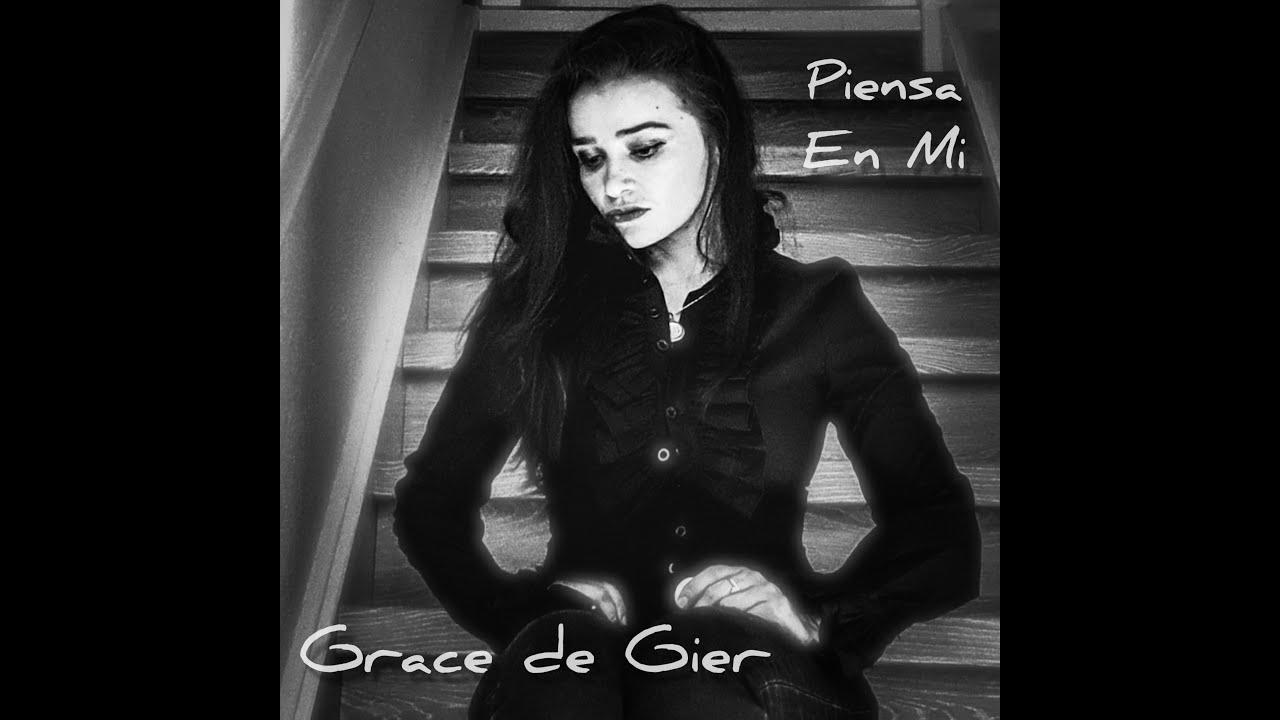 Grace de Gier - Piensa En Mi (Lyrics video) - YouTube