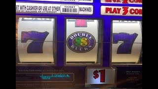 JACKPOT LIVE !!🍀Double Bucks $1 Slot Machine Max Bet $3 HAND PAY ! San Manuel Casino, Akafujislot