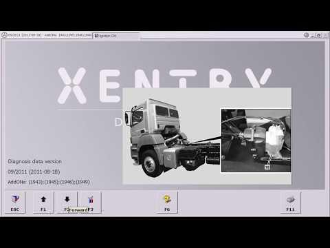 Programação ADBLUE Mercedes Com Star Diagnosis - NASSCAR Scanners