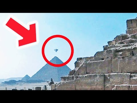 НЛО в Виде Пирамиды - Снято на Камеру  2018 HD (UFO)