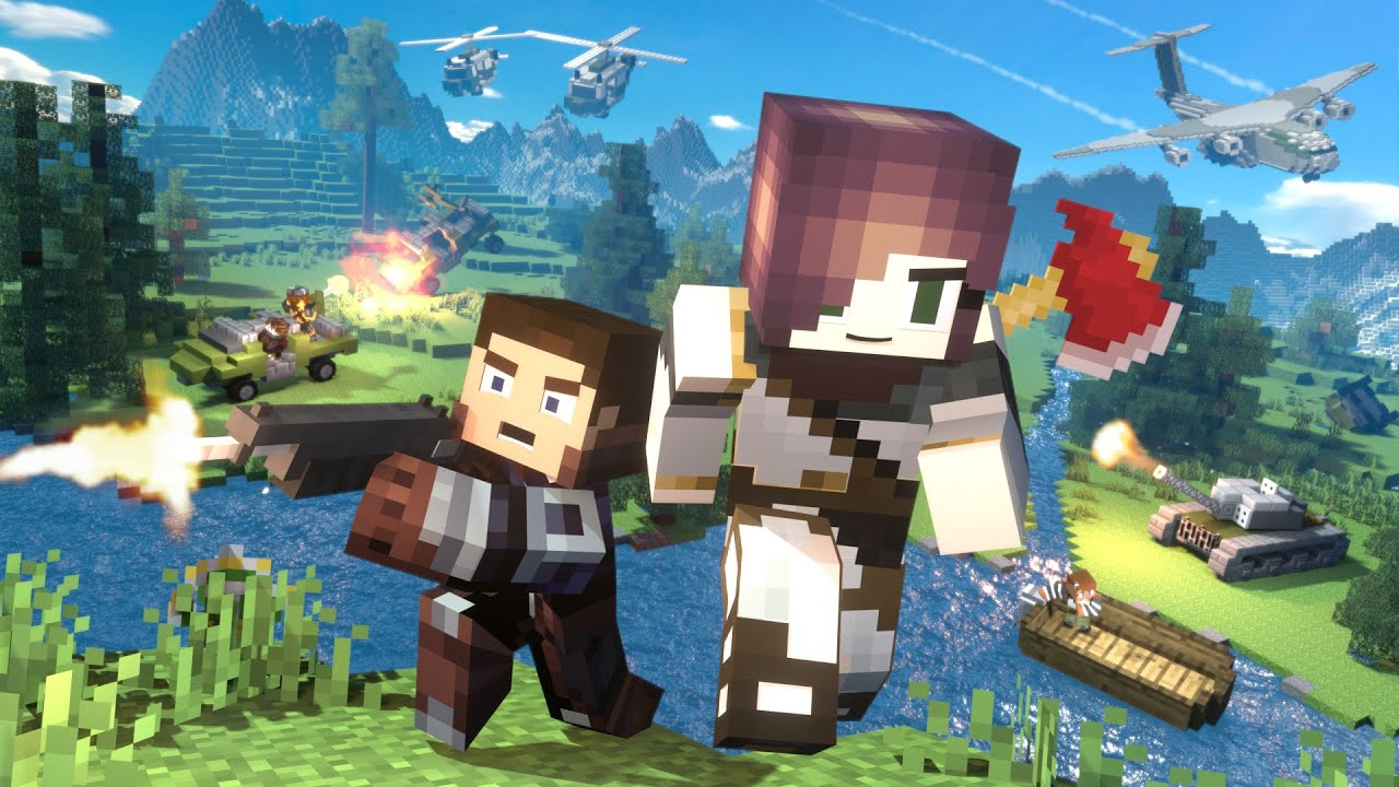 Download Battle Royale: FULL MOVIE (Minecraft Animation)