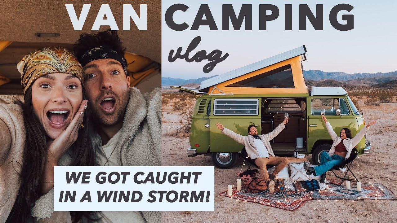 Surviving Van camping | Joshua Tree Vlog
