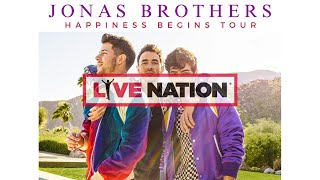 Jonas Brothers - Happiness Begins Tour 2020 | Live Nation GSA