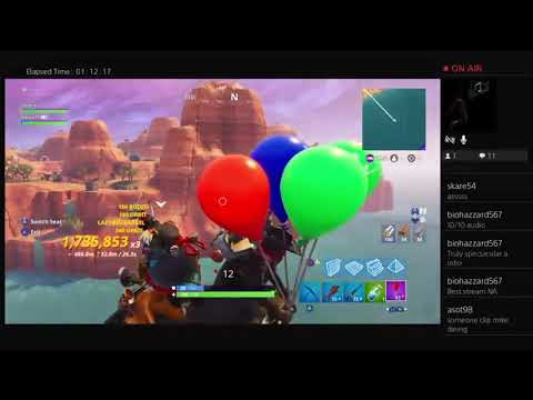 Fortnite Driving A Quad Crasher With Balloons Off Map Youtube