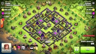 (Clash of clans) Un enorme buttin en master ! 2 000 000 de