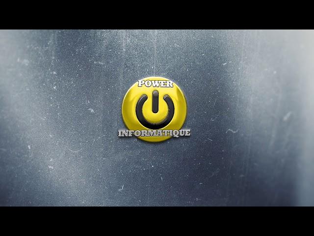 POWER INFORMATIQUE - ANIMATION LOGO 6