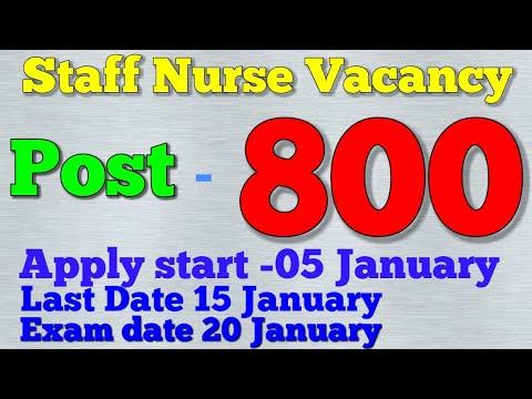 Staff Nurse Vacancy Post -800 in Baba Farid Univercity in punjab  post of CHO