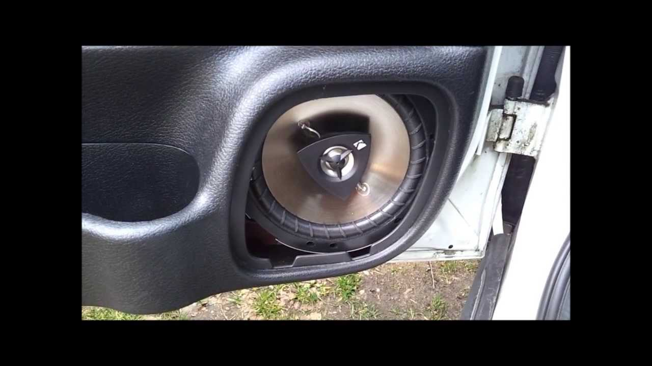 & Kicker K60 Into Astra Mk4 - YouTube Pezcame.Com