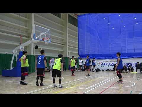 제주삼다수 3X3 BASKETBALL CHALLENGE 고등부 4강전 무리수 vs 양파범 2