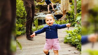 Can You Believe Prince Louis Is Walking?
