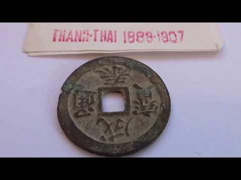 Rare Thanh-Thai 1888-1907 Vietnamese Coin