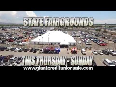 Albuquerque's 22nd Annual Credit Union Sale at the State Fair Grounds.