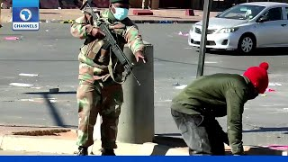 At Least 45 Killed In South Africa After Jacob Zuma Riots
