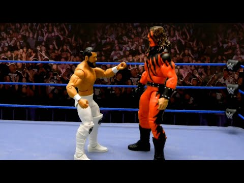 Andrade Vs. Undertaker As Kane – Casket Match: Action Figure Showdown