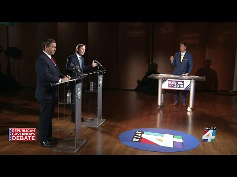 Florida Republican gubernatorial debate