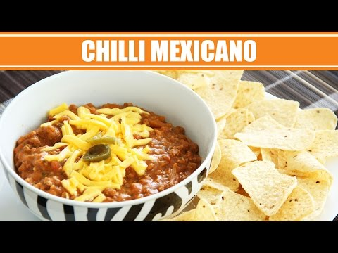 Receita Mexicana de Chilli com Carne