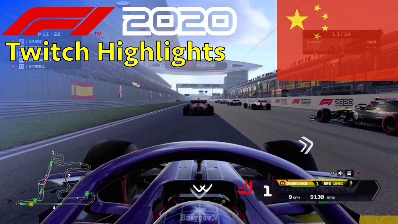 Twitch Highlights - MyTeam Race #4: 25% Race China