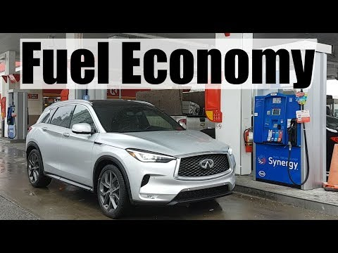 2019 Infiniti QX50 - Fuel Economy MPG Review + Fill Up Costs