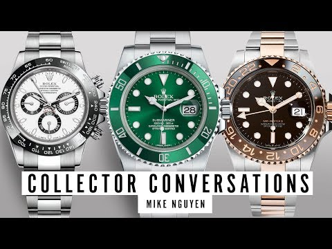 Collector Conversation: Mike Nguyen's Insane Rolex Collection, Oris And Much More!