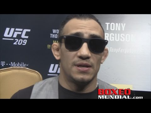 Tony Ferguson on Khabib fight at UFC 209: It should be for the real title
