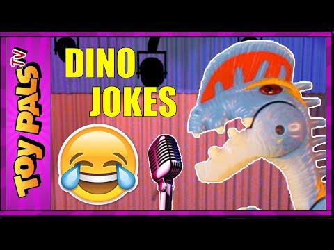 Funny DINOSAUR JOKES for Kids | Toy Dinosaur Comedy Club for Children on Youtube