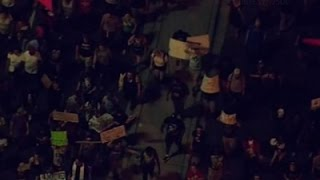 Raw: Protesters Gather in NC for Fifth Night