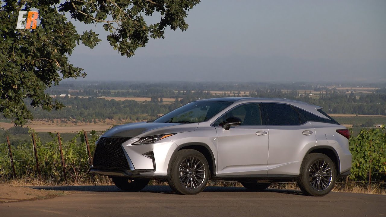 NEW 2016 Lexus RX350 F Sport Test Drive Review