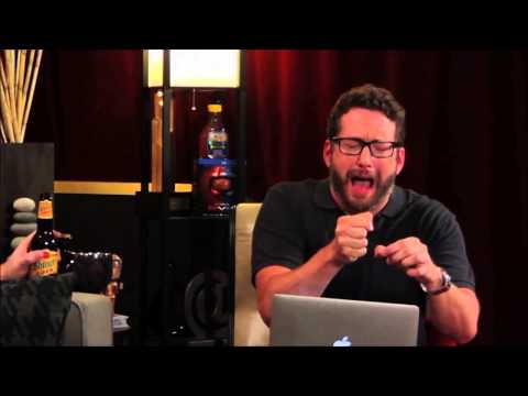 Burnie Burns imitates Matt Hullum