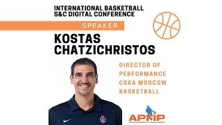 International Basketball S&C Digital Conference - Kostas Chatzichristos