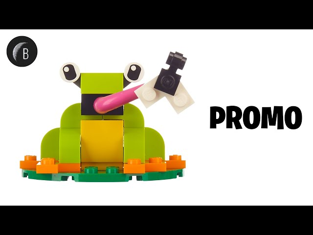 LEGO 40326 - Frog - Real-Time Build