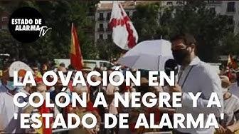 """Imagen del video: La ovación en Colón a Negre y al equipo de 'Estado de Alarma': """"Seguid contando la verdad"""""""