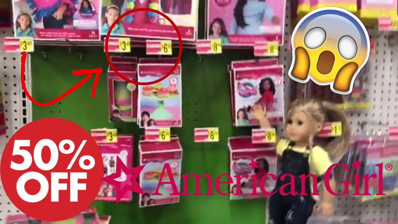 Cheap american girl doll stuff on clearance at michael 39 s for Craft store online cheap