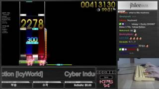 Cyber Induction [IcyWorld] +DT attempt - osu!mania