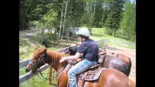 Horseback Riding in Alberta, Canada