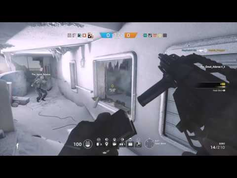 Tom Clancy's Rainbow Six Siege: 5 Kill Carry in Yacht *