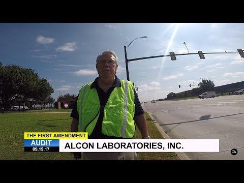 First Amendment Audit - Alcon Laboratories, Inc.