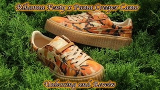 Rihanna Fenty x Puma Creeper Camo | Unboxing and Reveiw
